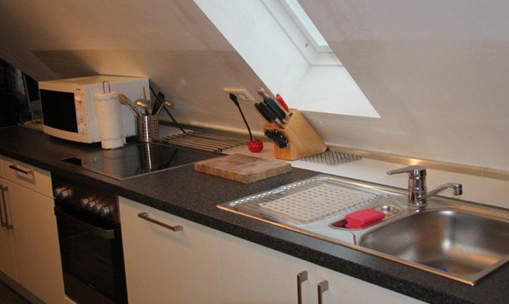küche | ferienwohnung - apartment - münsterland - grafschaft - bad ... - Apartment Küche